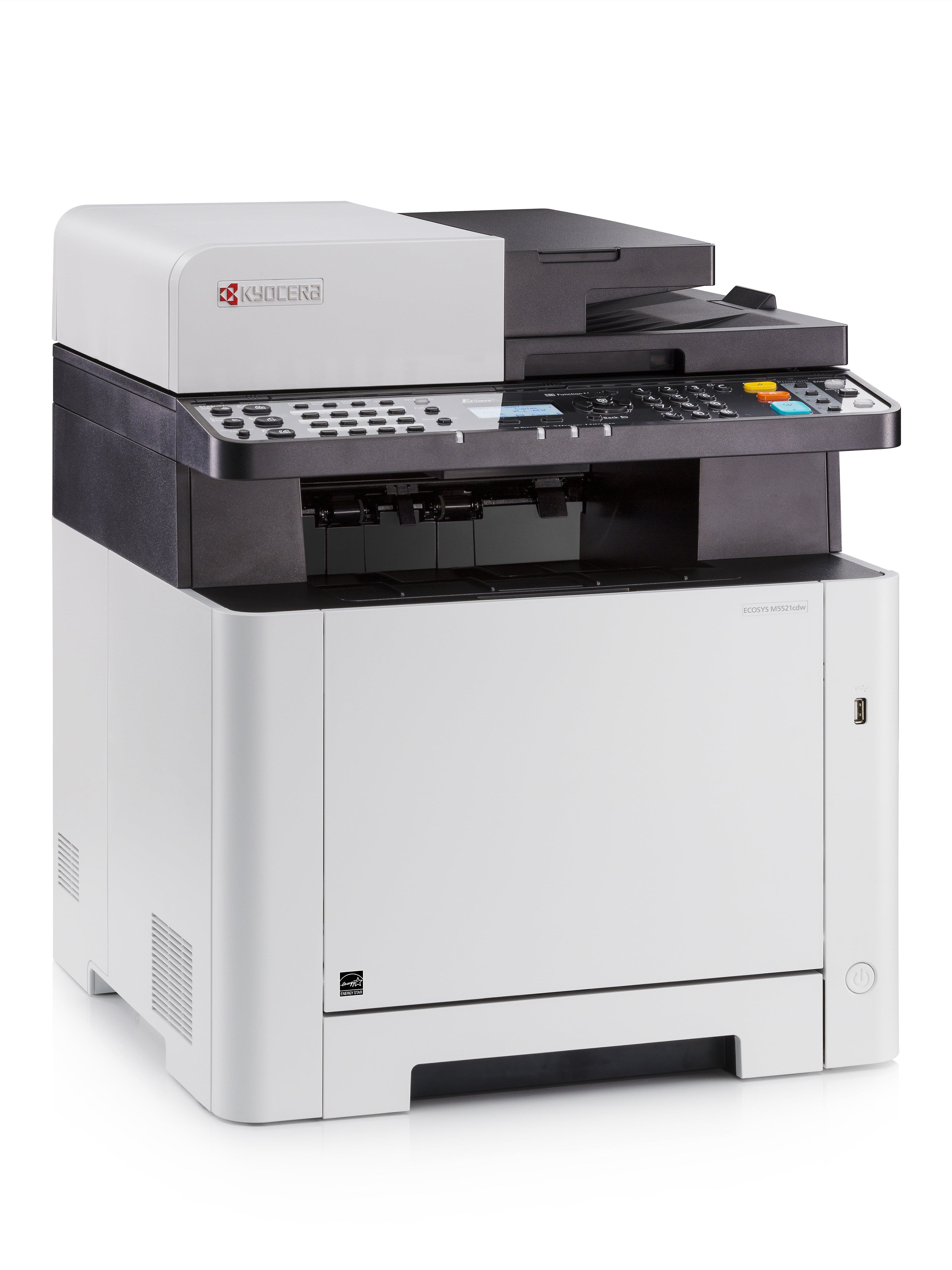 Kyocera ECOSYS M5521cdw Colour Multifunction Laser Printer.
