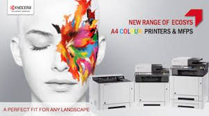 New Range of Kyocera Ecosys A4 Colour Printers & MFP's